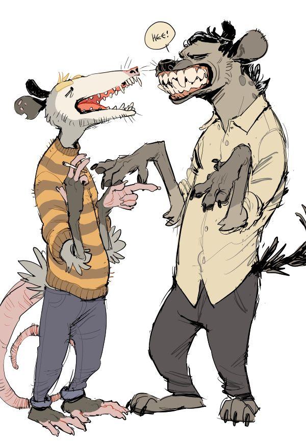 Anthropomorphic characters - photo#31