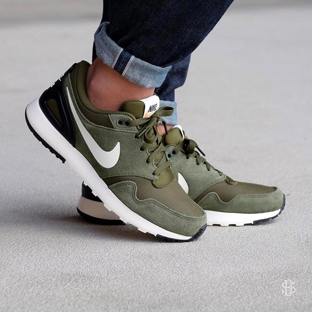 13f73e7a31367 ... discount nike air vibenna legion green sail black is restocked online  and available for only 4bc0c