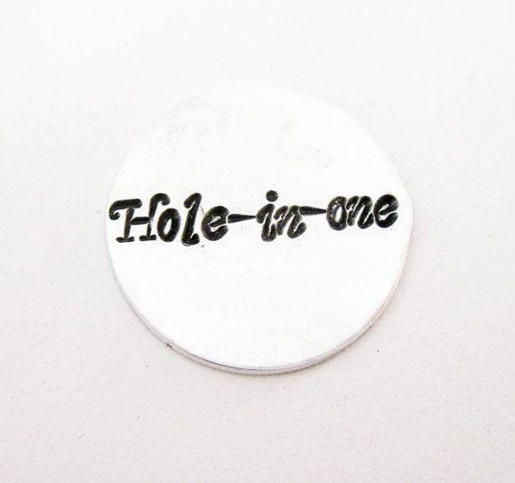 Marcatore personalizzato per pallina da golf di RobertaValle su DaWanda.com
