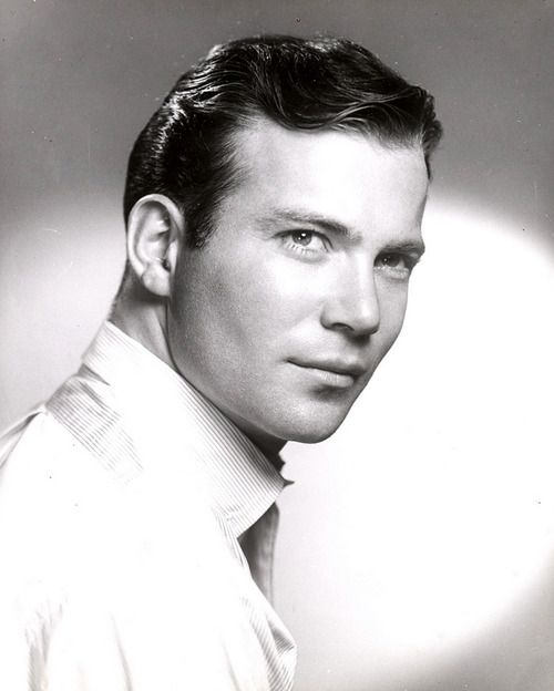 William Shatner 1961... he was quite a handsome man in his heyday ...
