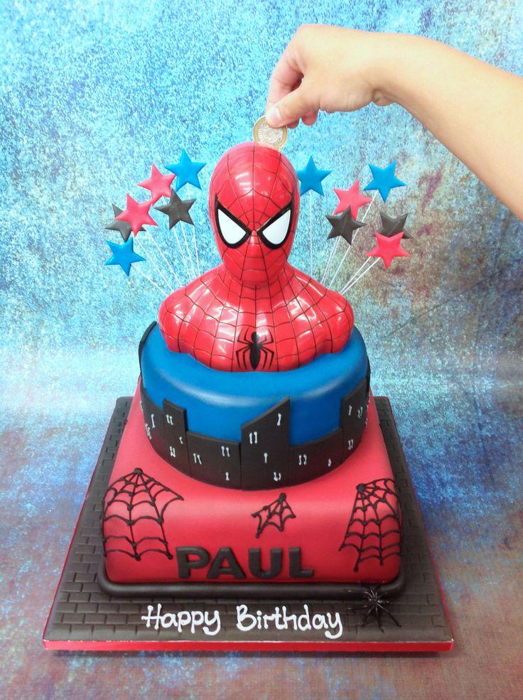 The Cake Store - Spiderman Moneybox Cake, £250.00…