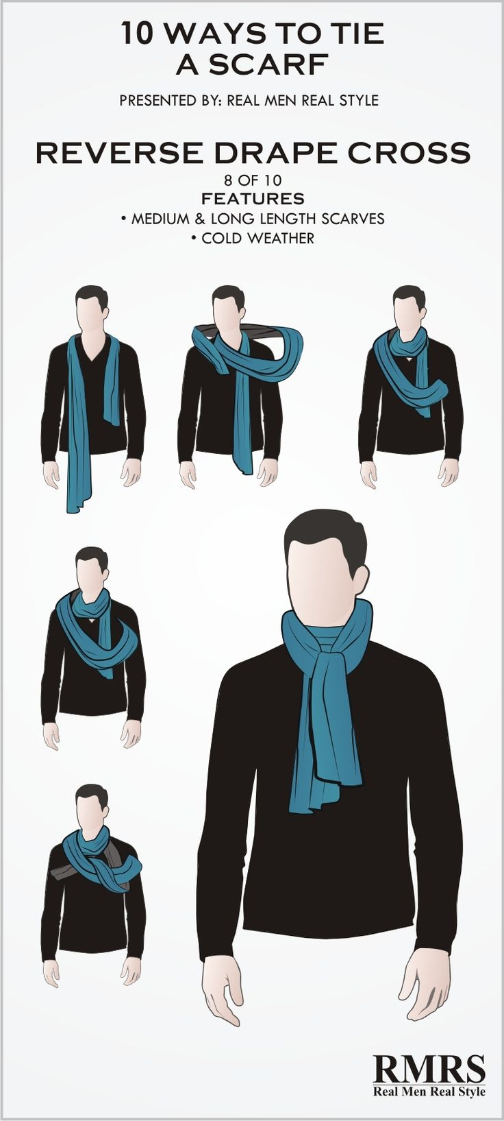 Best 25+ Scarf knots ideas on Pinterest