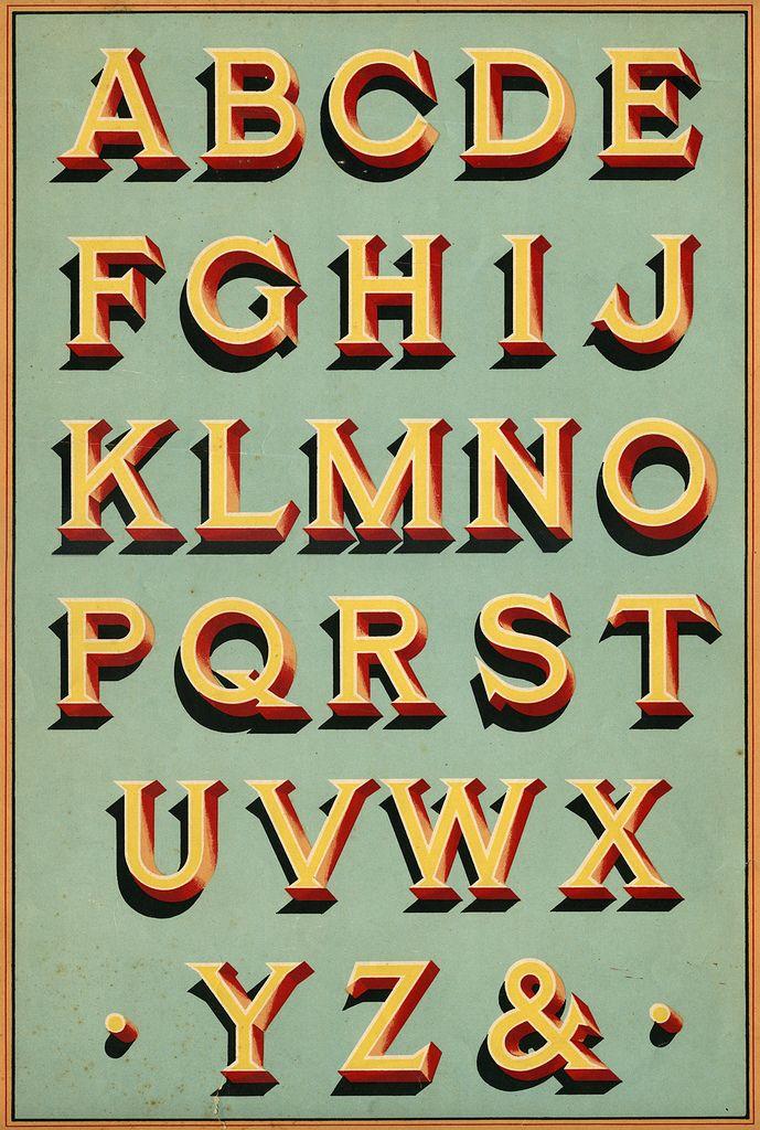 Signwriter Original | I found this type specimen in a shop i… | Flickr