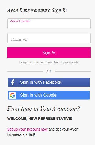 youravon.com login page