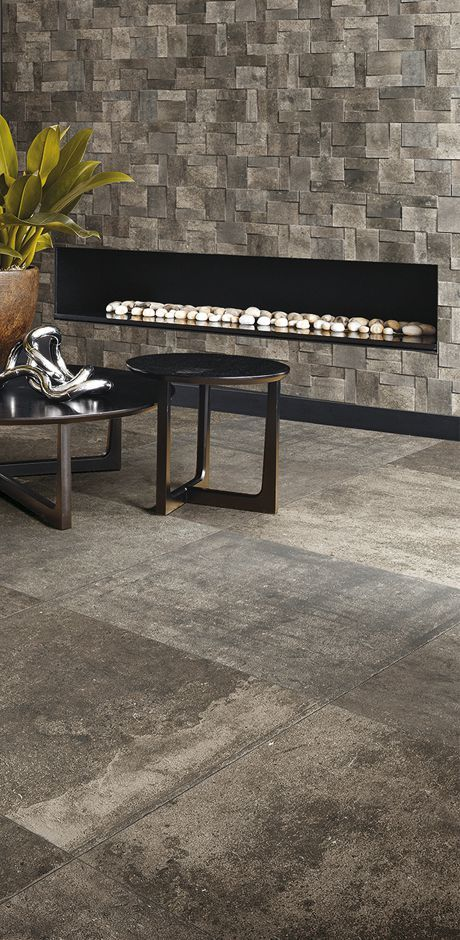 Gres porcellanato effetto pietra per pavimento e rivestimento:La Roche