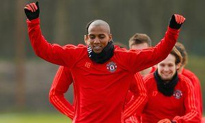 Manchester Uniteds Ashley Young could be available for Liverpool tie