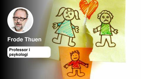 Ingen grunn til å advare mot delt bosted | Frode Thuen - Aftenposten