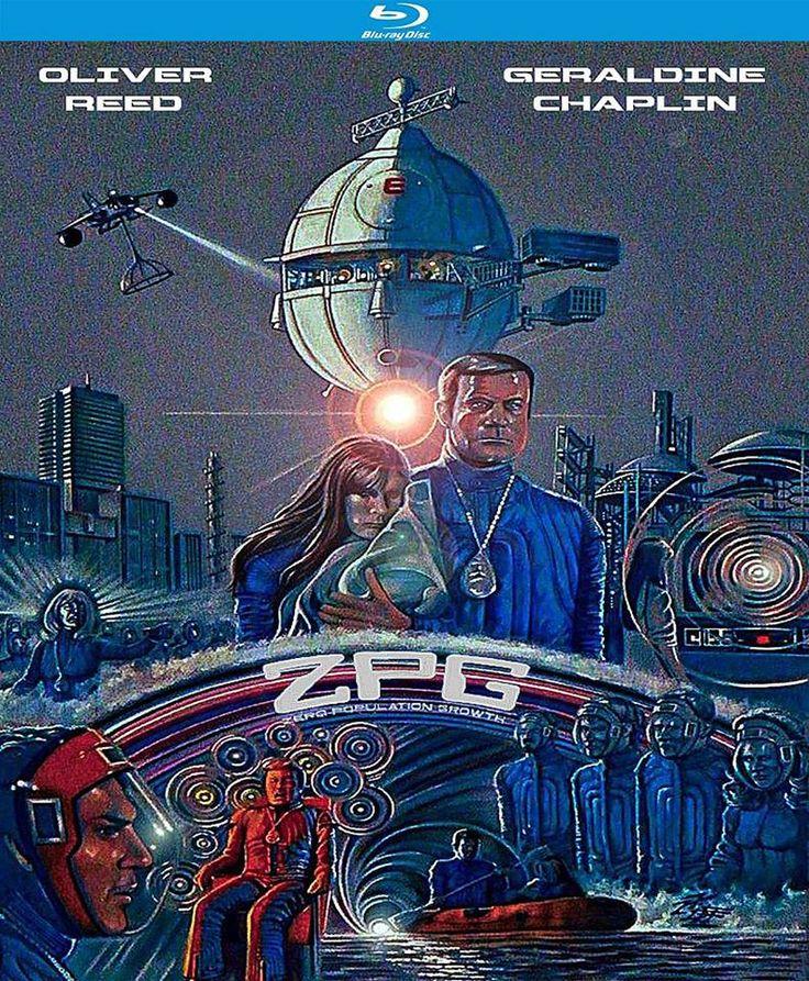 Z.P.G. ZERO POPULATION GROWTH/EDICTOSIGLO XXI; PROHIBIDO TENER HIJOS de Michael Campus (1972) el Blu-Ray