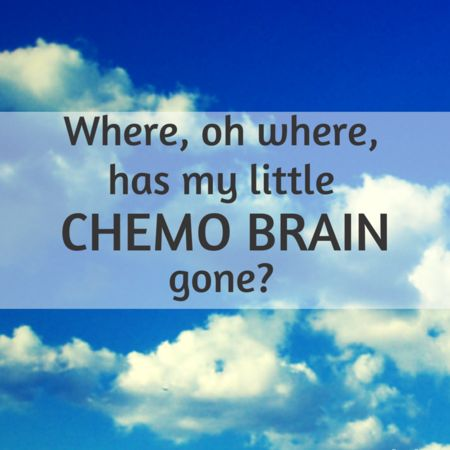 According to The Mayo-Clinic the definition of Chemo Brain is: Chemo brain is a common term used by cancer survivors to describe thinking and memory problems that can occur after cancer treatment. Chemo brain can also be called chemo fog, chemotherapy-related cognitive impairment or cogn...