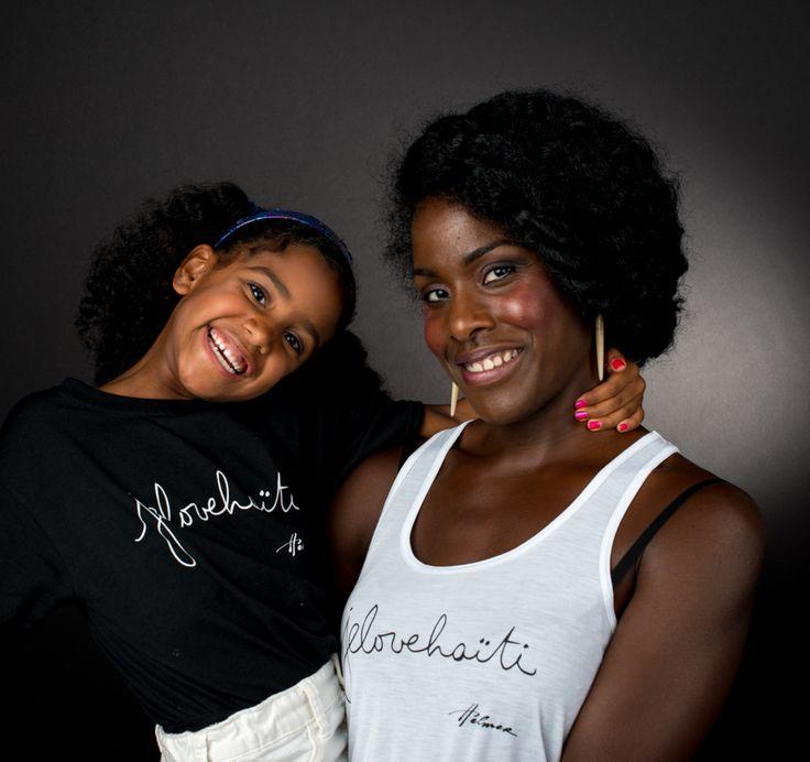 Family affair. Photo: Naskademini Make-up: Mindy Shear