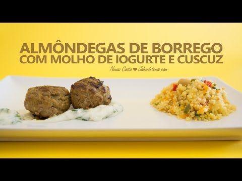 Receita de Almôndegas de Borrego com Molho de Iogurte e Cuscuz - YouTube