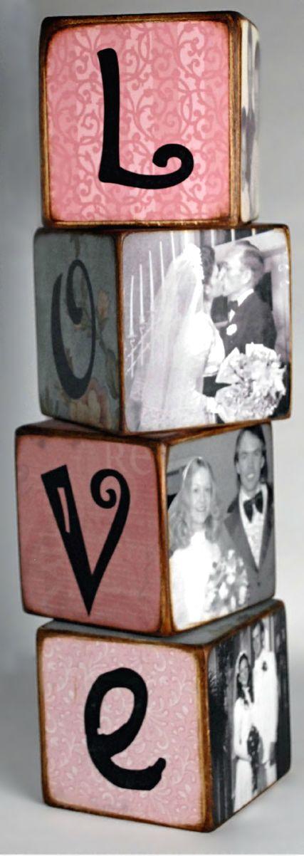 DIY ● Tutorial ● Valentine's Day Letter Blocks #TopPin2014
