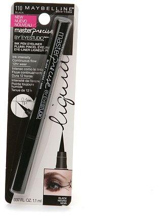 One of the best (and cheapest) eyeliners I've ever used--Maybelline EyeStudio Master Precise Ink Pen Eyeliner