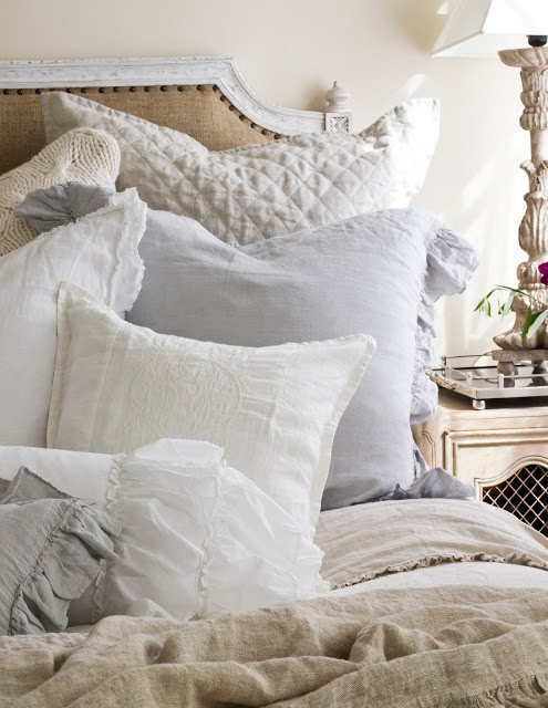 We are loving this comfy bedding