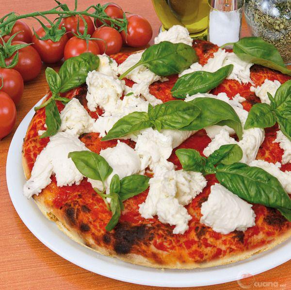 Pizza margherita con bufala - Bonci