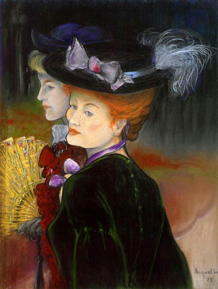 Луи Анкетен «Две дамы в лесу»