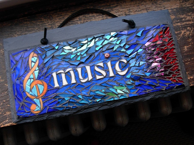 Hearing Music in Color. Mosaic by Nutmeg Designs.   Flickr - Photo Sharing!