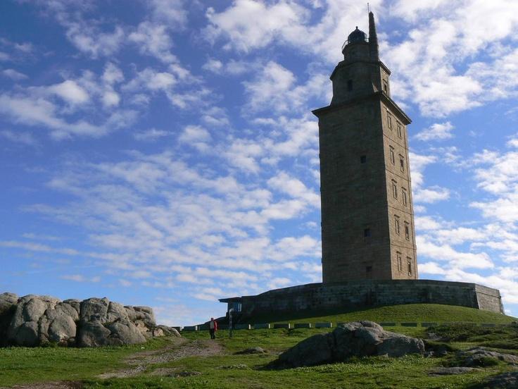 Torre de Hercules  Galicia, La Coruna, Spain
