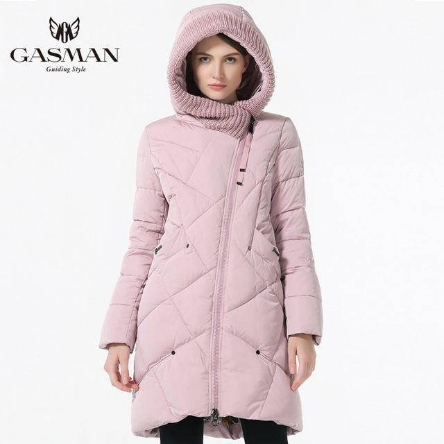 Cheapest $66.65, Buy 2017 New Winter Collection Brand Fashion Thick Women Winter Bio Down Jackets Hooded Women Parkas Coats Plus Size 5XL 6XL