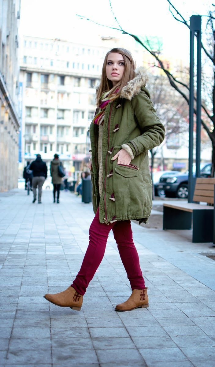 Best 25 parka beige ideas on pinterest gr ner parka - Beige kombinieren ...