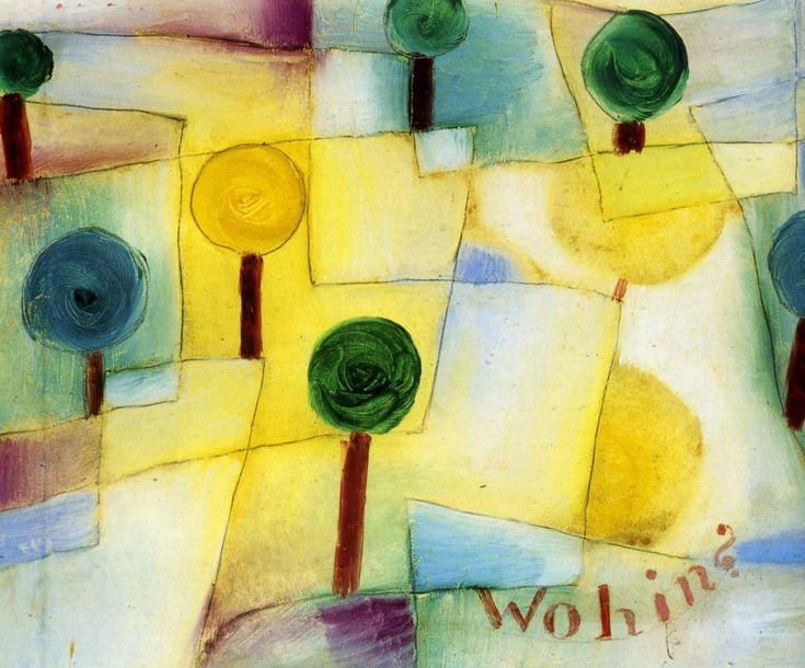 Paul Klee. In kindergarten