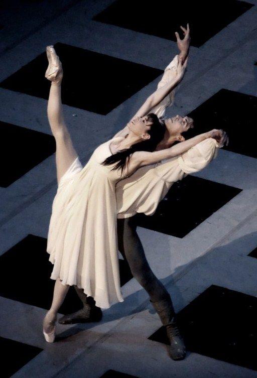 Lucia Lacarra and Roberto Bolle