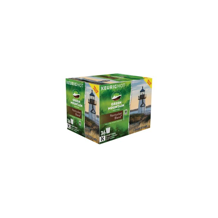 Green Mountain Coffee Nantucket Blend K-Cup Pods - 36ct
