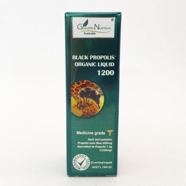 Black Propolis Organic Liquid