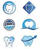 Dentist logos Stock Images
