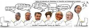 """Tem""""neguim"""" se mijando de medo Por Amorim Sangue Novo Rodrigo Janot acabou de entregar (às 19 horas) os nomes de vários envolvidos na Operação Java Jato.Como a relação está sobre segredo de justiça o Sátiro de Amora definiu bem a situação ao insinuar que muitos políticos estão se mijando de medo. - Veja a charge no Sem medo da verdade - http://www.semmedodaverdade.com.br/amorim-sangue-novo/tem-neguim-se-mijando-de-medo/"""