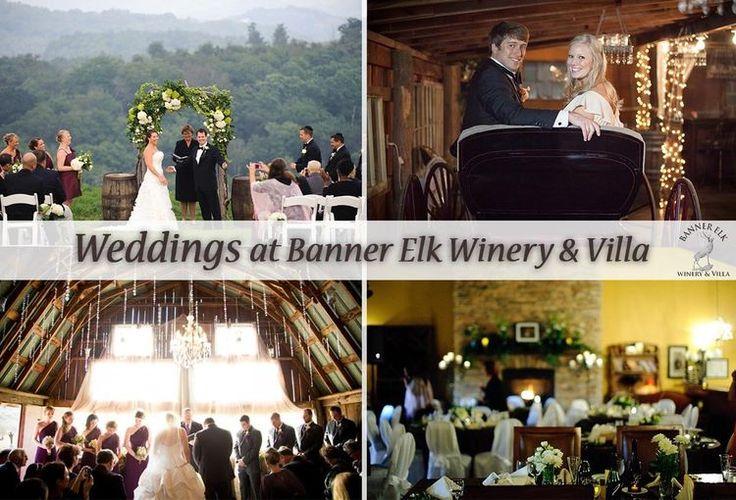 Weddings at Banner Elk Winery & Villa in North Carolina