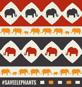 Without our help Elephants will become extinct. The Nature Conservancy - #SaveElephants