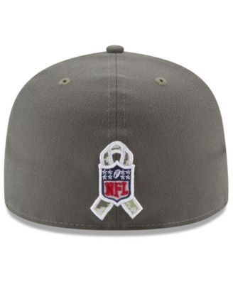 New Era Los Angeles Chargers Salute To Service 59FIFTY Fitted Cap - Brown 6 7/8