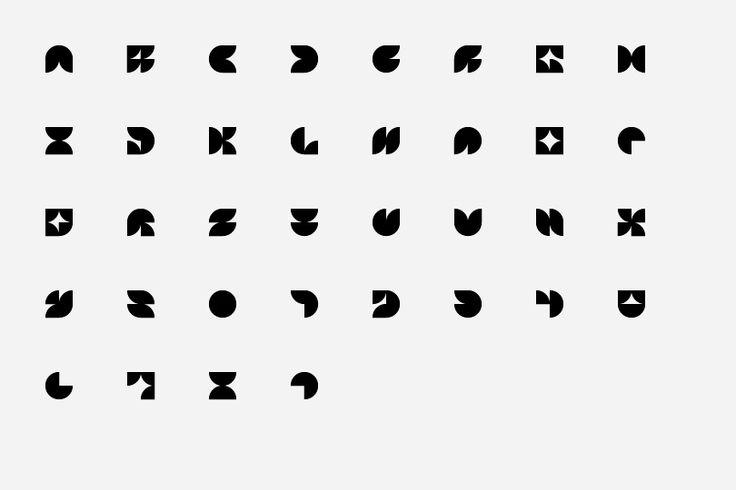 """Mosaic"" Typeface   Designer: Mark Gowing Design   Image 2 of 5"