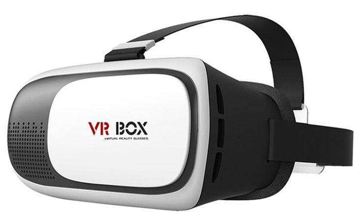VR BOX 3D Video Movie Game Virtual Reality Headsets for Smartphone with Gamepad #Unbranded