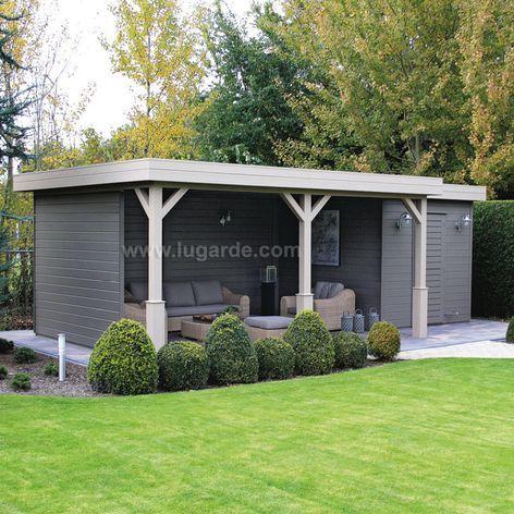 Prima Flat Roof Summerhouses under 2.5m height