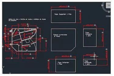 cerwin vega ts-42 planos autocad, pdf o jpg.