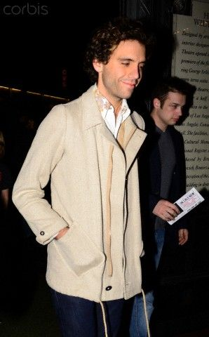 Singer Mika arrives to the Wiltern Theatre for Sting's Concert in Los Angeles November 29, 2011