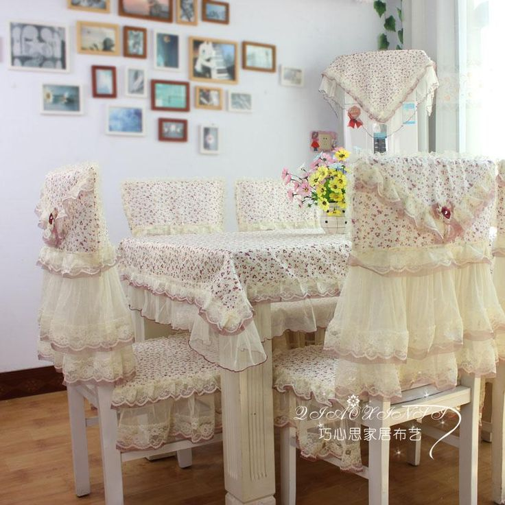 Aliexpress.com : Buy Table cloth tablecloth dining table cloth cushion chair cover dining chair set lace cloth fresh rustic from Reliable round tablecloth suppliers on Wonderful world shopping Store. $58.00
