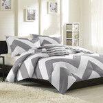 Luxury Home Chevron Comforter Set & Reviews   Wayfair