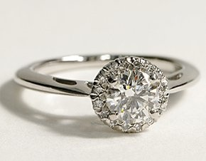 simple and elegant engagement ring