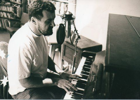 Paul plays piano by leaning on certain keys that seem friendly