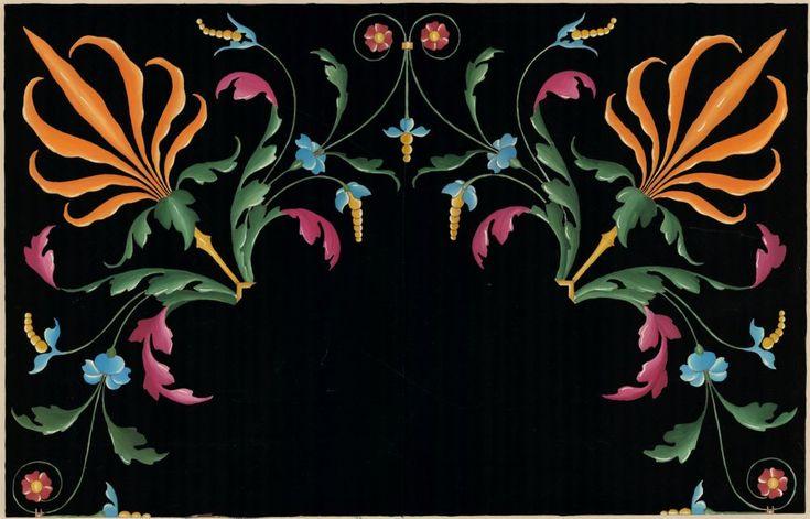 Intarsia aus S. Petronio in Bologna. Italienische Flachornamente aus der Zeit der Renaissance   Moritz Meurer