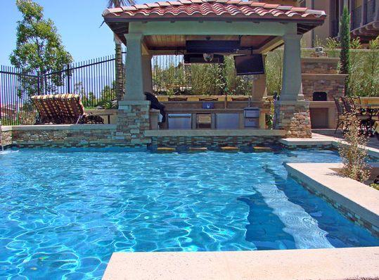 25 best pool ideas images on pinterest pool ideas - Kunstfelsen pool ...
