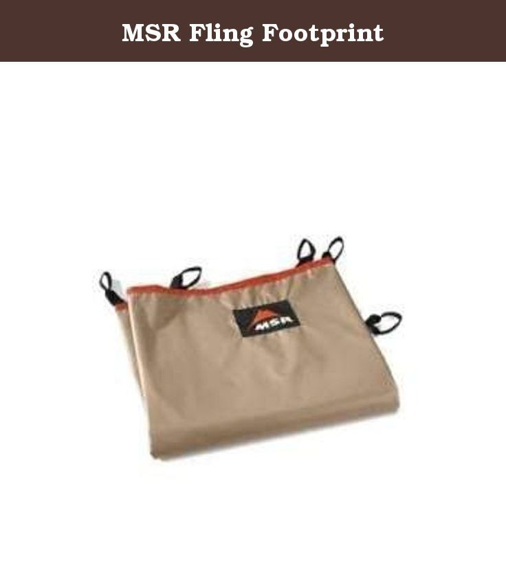 MSR Fling Footprint. Why do I need a footprint? Made of water-resistant polyester-taffeta MSR footprints protect your tent floor from sharp objects ...  sc 1 st  Pinterest & 179 best Footprints Tent Accessories Tents u0026 Shelters Camping ...