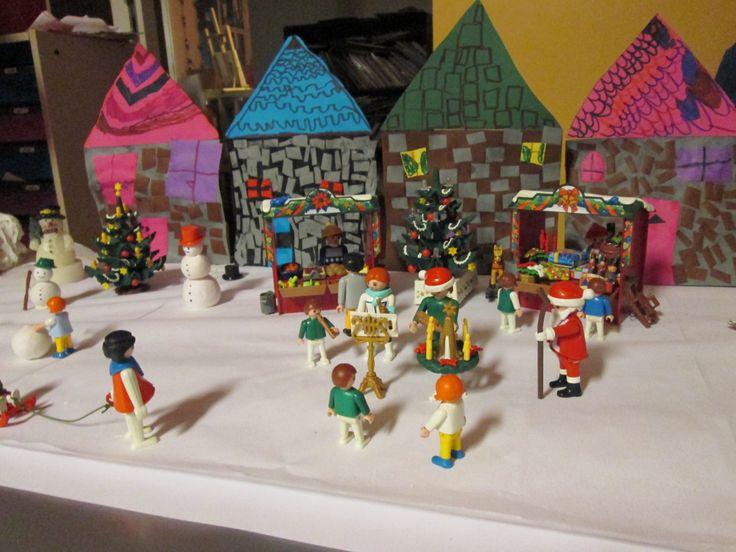 Kerstspeeltafel 03 Nutsschool Maastricht