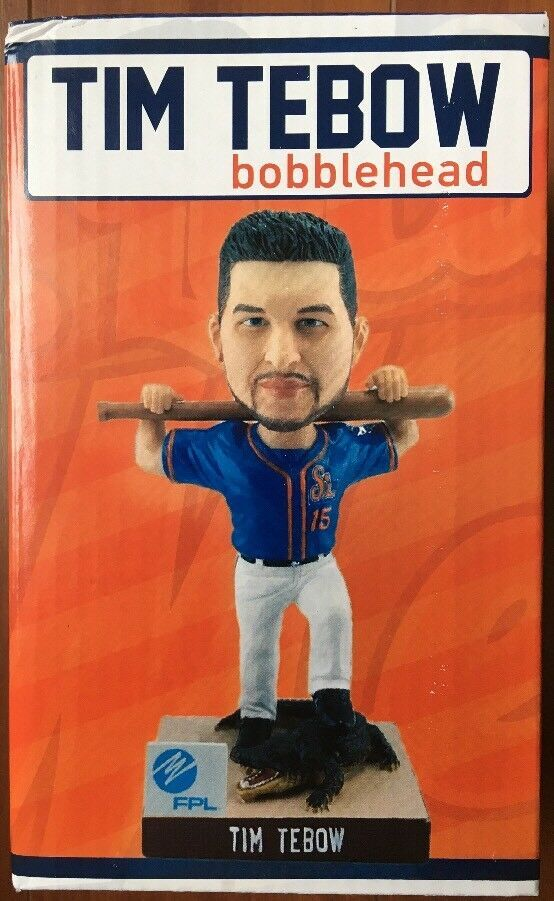 Tim Tebow Bobblehead Sga Very Limited And Rare New York Mets 12000