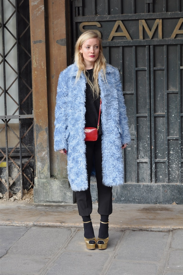 streetstyle Kate Foley #PFW just before the Kenzo show image by StunningStreetstyle