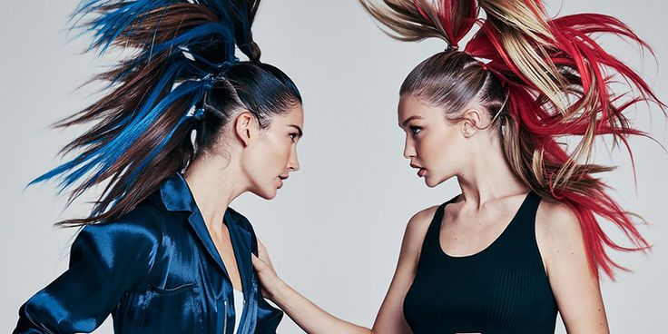 Gigi Hadid and Lily Aldridge's Sporty and Bold Looks for Spring