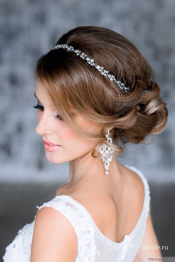 Crystal Bridal Headband a touch of simple elegance for your special day: labellabridalacce... Find More Beautiful Wedding Dress at http://Nadhaweddingfashion.com